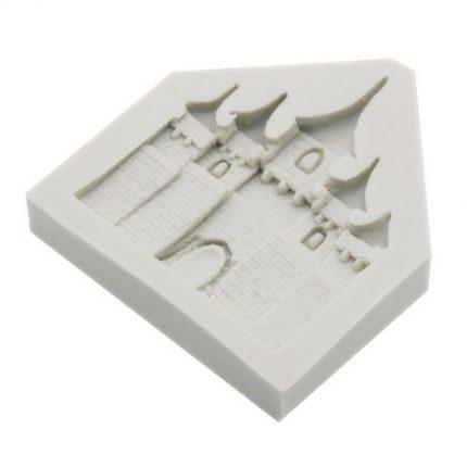 Καλούπι σιλικόνης, Κάστρο, 7x8x1,5cm