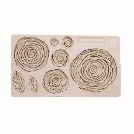 Καλούπι σιλικόνης, Κουκουνάρια, 10.7x7.2x1.6cm