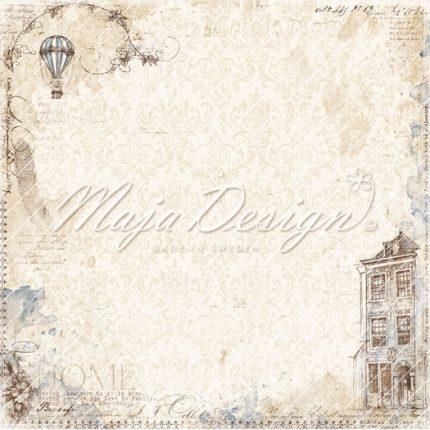 Χαρτί Scrapbooking Maja Collection διπλής όψης, Miles Apart - Stay home