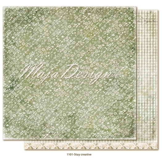 Χαρτί Scrapbooking Maja Collection διπλής όψης, Miles Apart - Stay creative