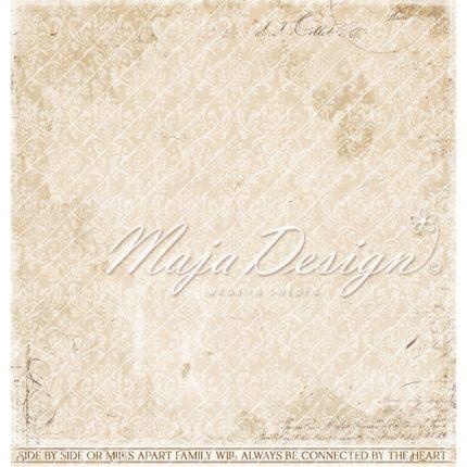 Χαρτί Scrapbooking Maja Collection διπλής όψης, Miles Apart - Ephemera