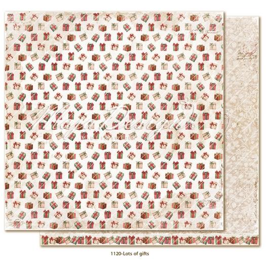 Χαρτί Scrapbooking Maja Collection διπλής όψης, Traditional Christmas - Santa's Elves