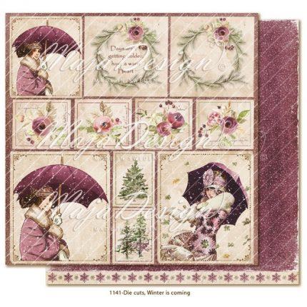 Χαρτί Scrapbooking Maja Collection διπλής όψης, Winter is coming - Chilly weather