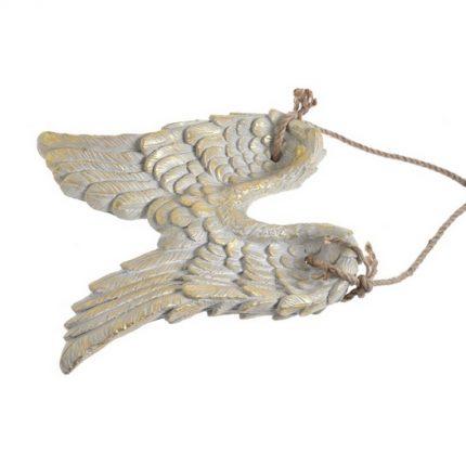 Φτερά κρεμαστά διακοσμητικά, 41cm, Διακόσμηση σπιτιού vintage