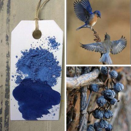 Χρώμα παλαίωσης Milk Paint  Denim Blue, Maja's Memories