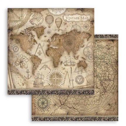 Χαρτιά scrapbooking 10τεμ, 30.5x30.5cm, Sir Vagabond Stamperia
