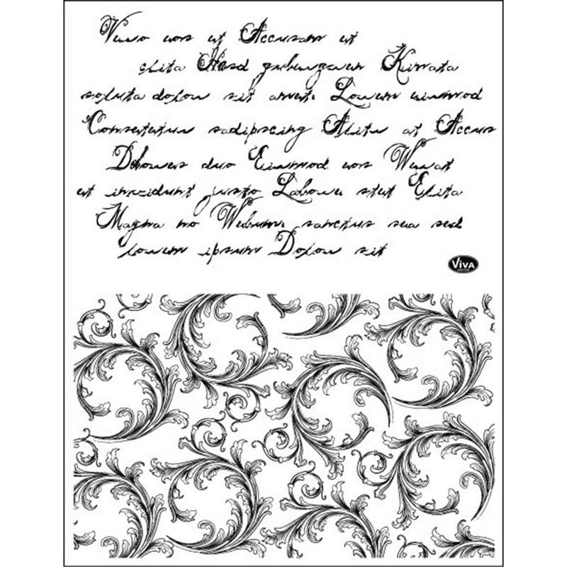 Σφραγίδα Viva Decor Set Letters and Embelishments 14 x 18 cm
