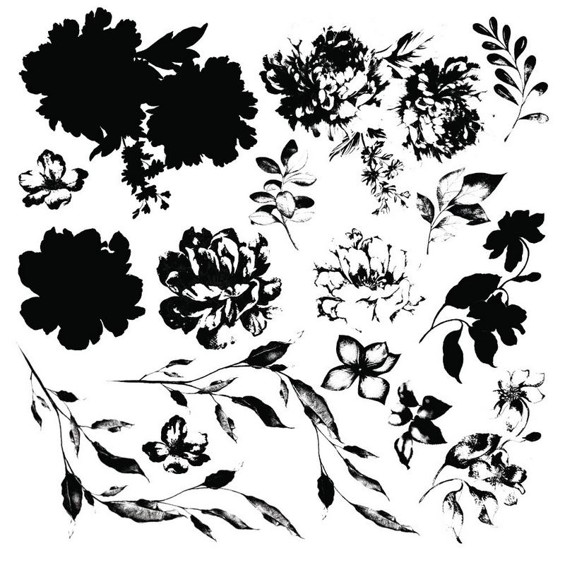 Σφραγίδα Re-design Springtime, 30,5x30,5cm