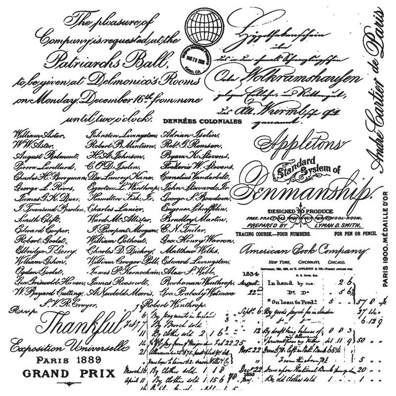 Σφραγίδα Re-design, Handwritten Note, 30,5x30,5cm