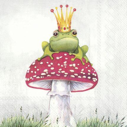 Χαρτοπετσέτα για decoupage, Lucky frog, 1 τεμ.