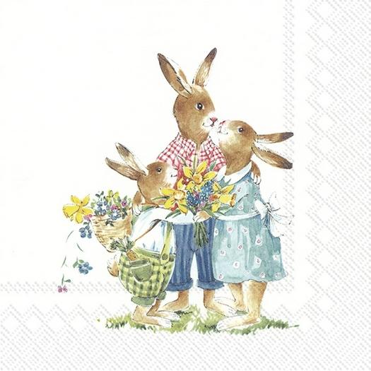 Χαρτοπετσέτα για decoupage, Easter Ride