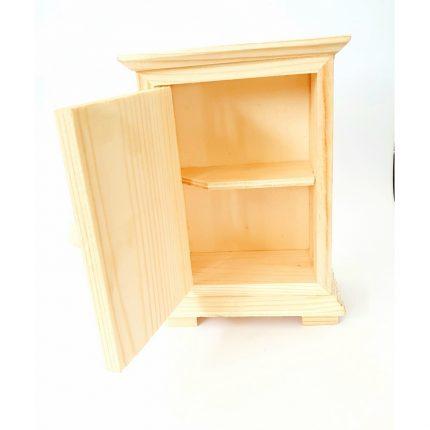 Ντουλαπάκι ξύλινο μίνι 14x9cm