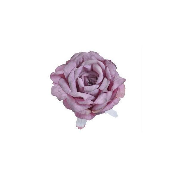 Τριαντάφυλλο κεφάλι 11cm, shabby purple
