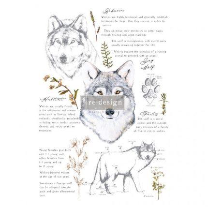Χαρτί Decor Transfer Prima Re-Design, Gray Wolf , 61x89cm