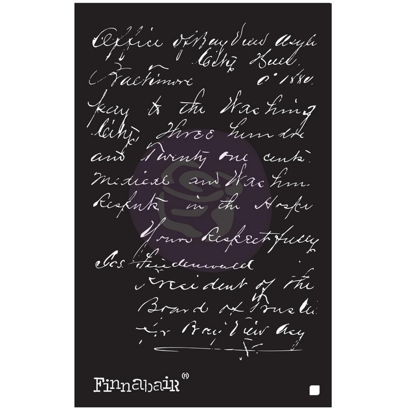 Prima Re-Design Stencil, Dandellions, 15x23cm