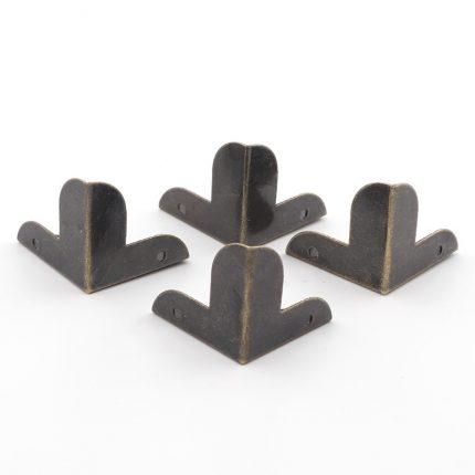 Γωνίες μεταλλικές σετ 8τεμ, 22x22x23mm