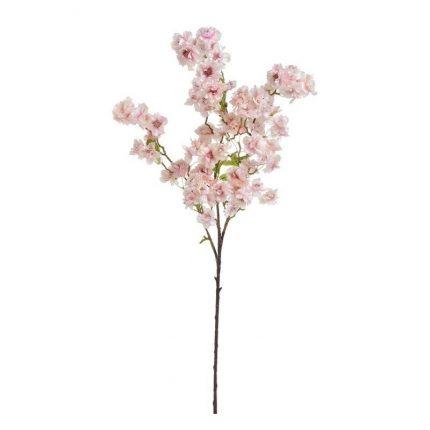 Κλαδί ανθισμένης κερασιάς, 104cm, white