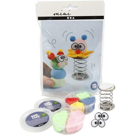 DIY Kit για παιδιά, Κλόουν με ελατήριο