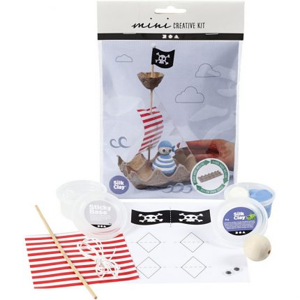 DIY Kit για παιδιά, Πειρατικό καράβι με ανακύκλωση