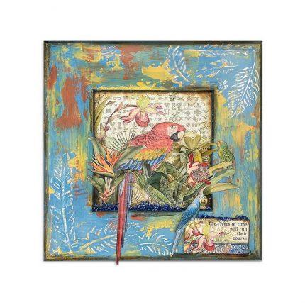 Χαρτιά scrapbooking Stamperia 10τεμ, 20.3x20.3cm, Amazonia