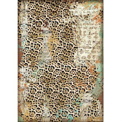 Ριζόχαρτο Stamperia 21x29cm, Amazonia, Texture