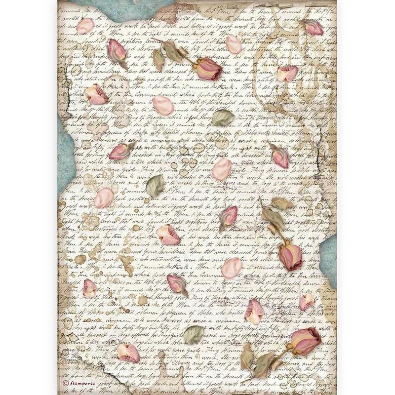 Ριζόχαρτο Stamperia 21x29cm, Passion, Petals