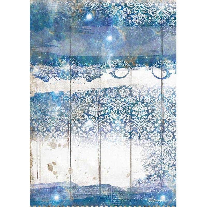 Ριζόχαρτο Stamperia 21x29cm, Sea Dream, Texture