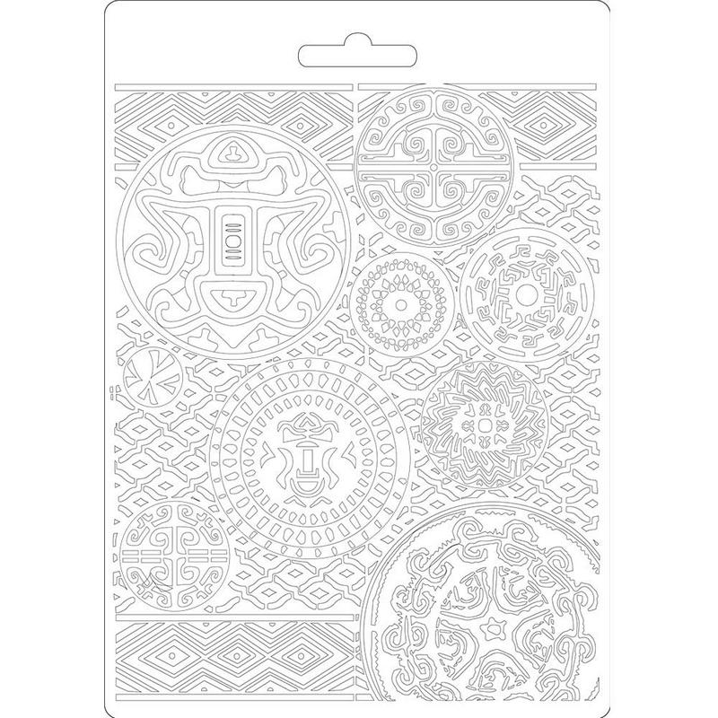 Καλούπι εύκαμπτο A5, 15x21cm, Stamperia, Amazonia texture