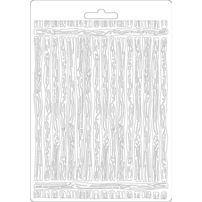 Καλούπι εύκαμπτο A5, 15x21cm, Stamperia, Amazonia wood
