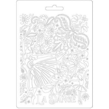 Καλούπι εύκαμπτο A5, 15x21cm, Stamperia, Passion Dancer