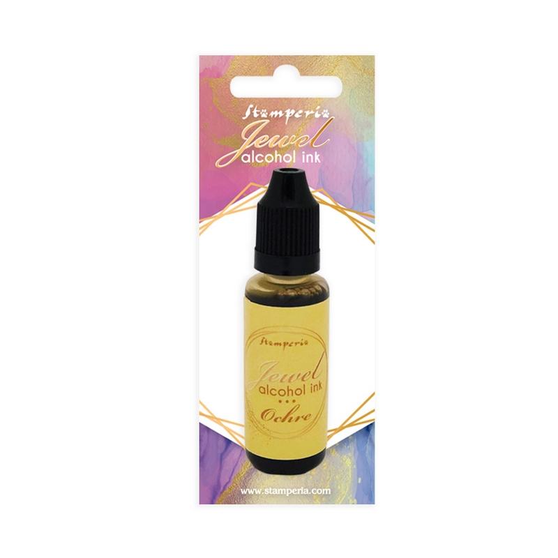 Μελάνι Jewel Alcohol Ink Stamperia 18 ml,  Ochre