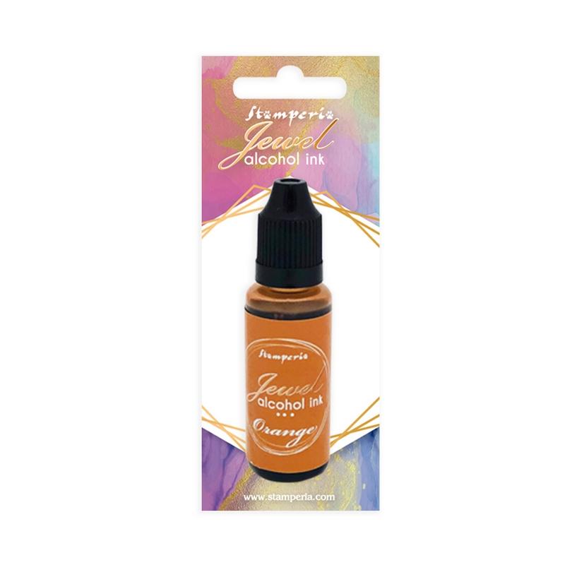 Μελάνι Jewel Alcohol Ink Stamperia 18 ml,  Orange