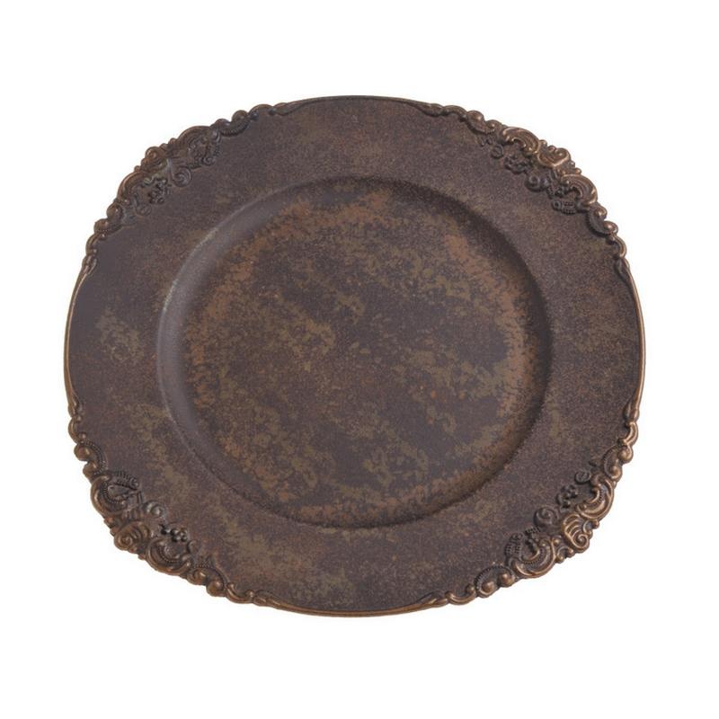 Δίσκος vintage rusty, 35cm
