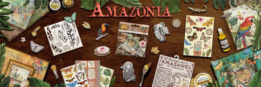 Χαρτιά scrapbooking Collection Stamperia Amazonia