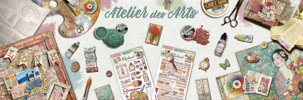 Χαρτιά Scrapbooking Collection Stamperia Atelier des Arts