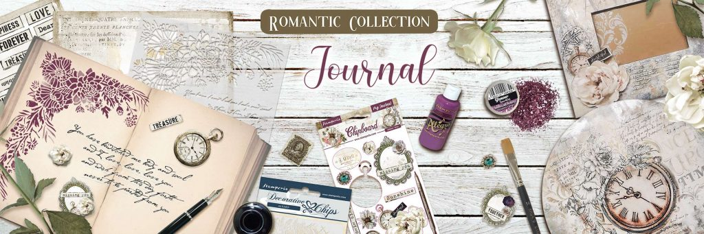 Romantic Journal Stamperia