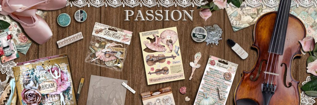 Collection Stamperia Passion