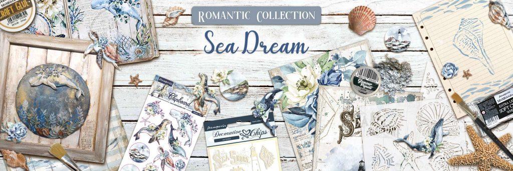 Romantic Sea Dream Stamperia Collection