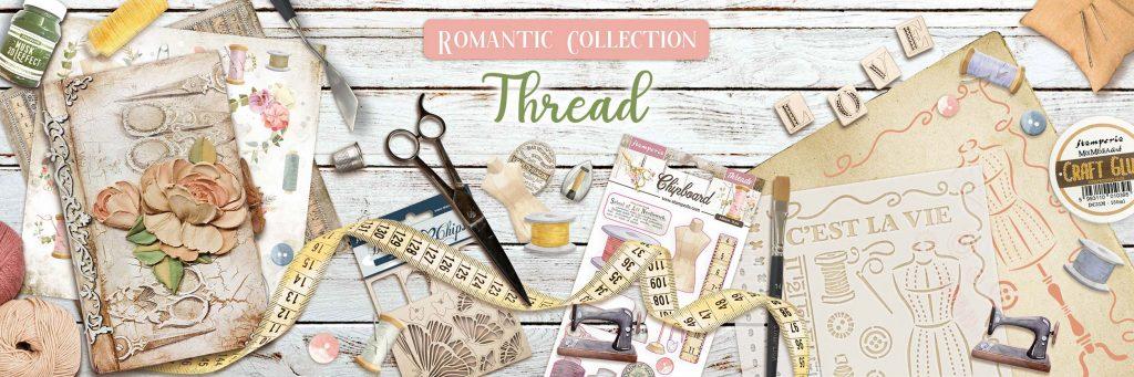 Romantic Thread Stamperia Collection
