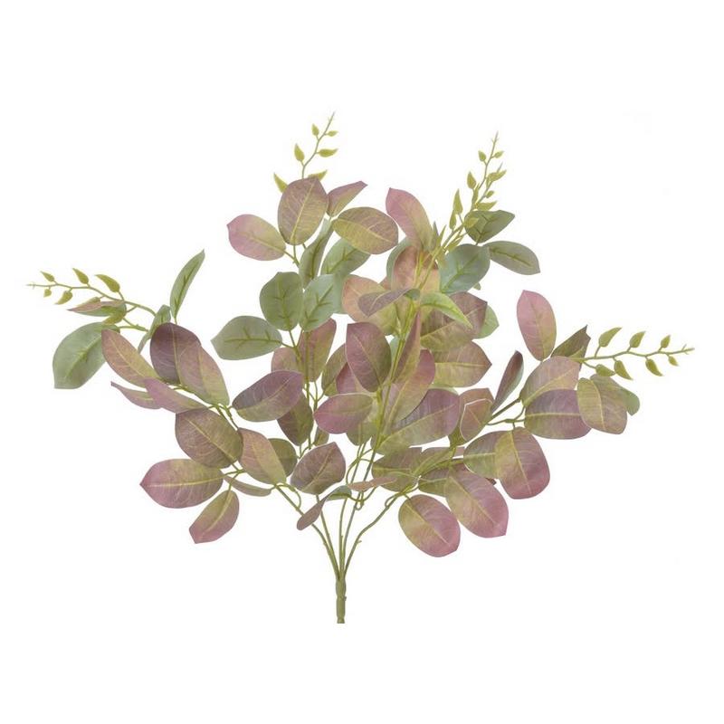 Κλαδί πολύφυλλο, green-purple, 55cm