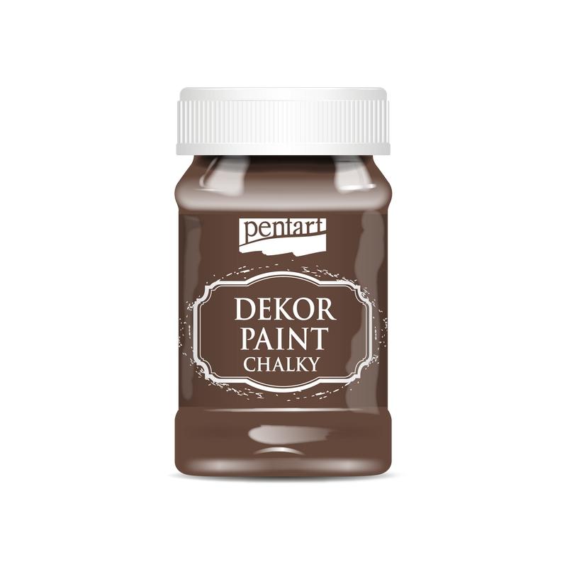 Χρώμα κιμωλίας Dekor Paint Chalky 100ml Pentart, Green