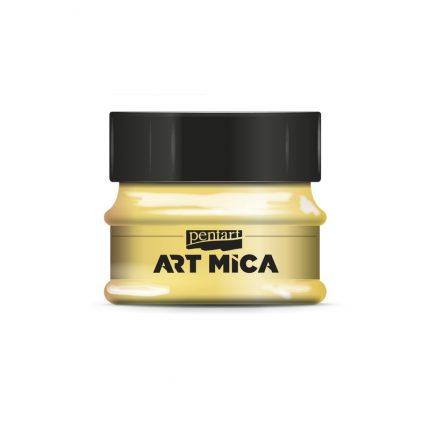 Μίκα Art Mica Pentart, Yellow, 9gr