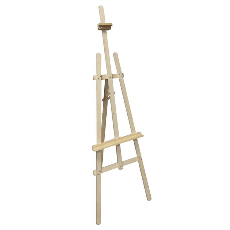 Ξύλινο καβαλέτο, Υ45cm