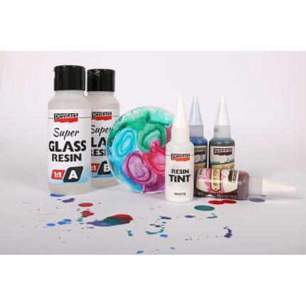 Ρητίνη Super Glass Resin Pentart 1:1, 40+40ml