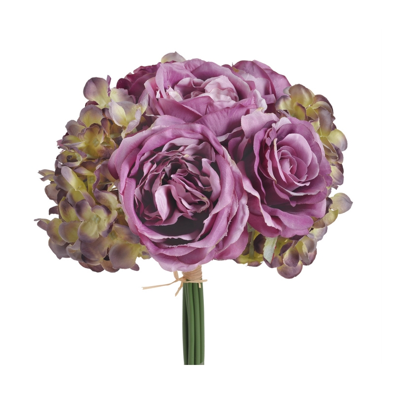 Κλαδί αγριολούλουδο ροζ, 76cm