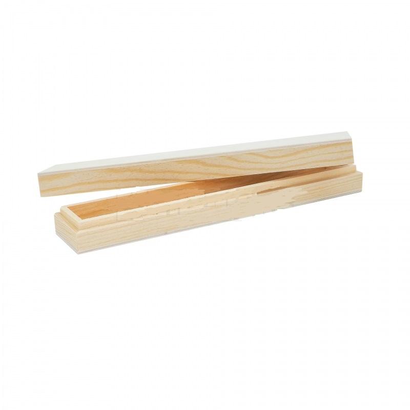 Μολυβοθήκη ξύλινη mini, 21x4x3cm