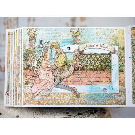 Die Cuts Chipboard Stamperia 15x30cm, Sleeping Beauty