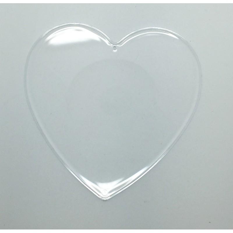 Εσωτερικό διαχωριστικό για καρδιά Plexiglass 16 x 4,5cm