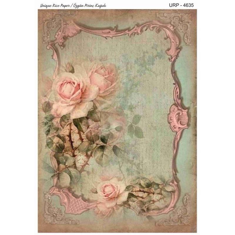 Ριζόχαρτο Rich, 29,5x41,5cm, Λουλούδια σε βάζο 4495