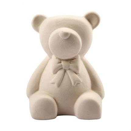 Κουμπαράς αρκουδάκι κεραμικός 9cm